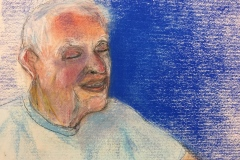 Murray at 93 (pastel on paper)